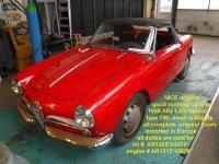 1958 Alfa Romeo 1300 spider type