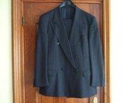 Kostuum, maat 50/52, donker blauw met
