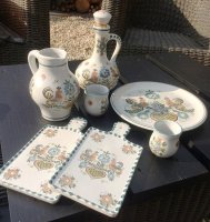 Aardewerk set - Ulmer Keramik