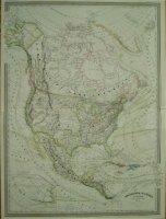 Amérique du Nord - 1860