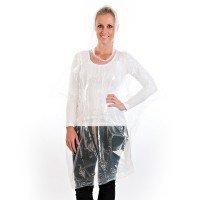 Aangeboden: Regen Poncho, gemaakt van polyethyleen, transparant € 0,80