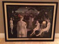 Paul Delvaux Reproductie Le Jardin, 110