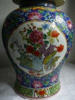 Prachtige grote Chinese Vazen met deksel