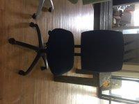 Aangeboden: Bureaustoel Drabert Entrada blauw, veel verstelbaar € 59,-