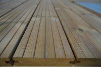 Terrasplank Thermisch grenen hout Groef/glad Goedkoop
