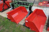 Grondbakken, Volumebakken en transportboxen voor minitractor