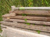 Hard houten balken