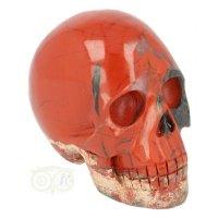 Rode Jaspis kristallen schedel 329 gram