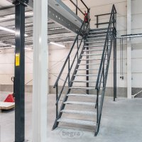Bordestrap Platformtrap Industriële Trap 2800x800