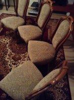 4 antieke stoeltjes
