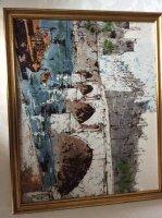 2 mooie schilderijen 50x40 cm (zie