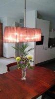 Aangeboden: Mooie tafellamp met ledverlichting t.e.a.b.