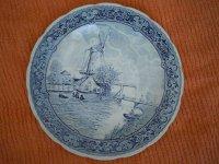 Mooi Delfts Blauw Wandbord