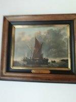 Kunstdruk op doek , vandecapelle 1629/1679