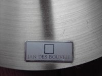 Aangeboden: Vloerlamp Jan Des Bouvrie € 10,-