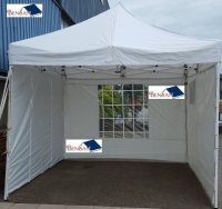 Aangeboden: Tent 3x3 mtr easy-up partytent feesttent feest bensan enter n.o.t.k.