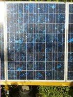 Zonnepaneel en laadregelaar