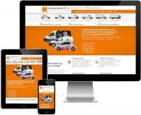 Aangeboden: Werkende website, webdesign, Professionele website € 450,-