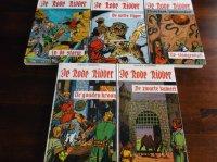 5 Rode ridder boeken