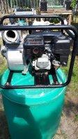 Aangeboden: Benzine waterpomp € 150,-