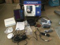 Aangeboden: Navman Trackfish 6600. Navigatie en Fishfinder ineen. € 600,-