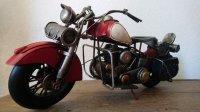 Harley Davidson model motor oldtimer metaal