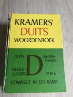 Kramer's Duits woordenboek uit 1978