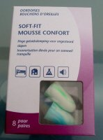 Oordopjes soft-fit mousse comfort