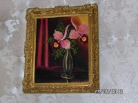 Aangeboden: Een mooi schilderijtje stil leven € 125,-