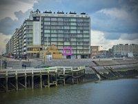 Blankenberge Appartement aan zeedijk