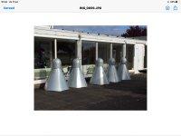 Aangeboden: Te koop aangeboden: 5 kunstwerken (shuttels) ontwerp Johan Wagenaar t.e.a.b.