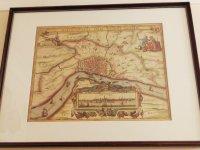 Oude kaart van Antwerpen en 2