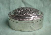 Indonesisch zilveren doosje