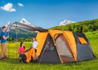 Funcamp 4 persoons tent - zo