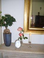 Aangeboden: Rechthoekige spiegel geslepen € 45,-