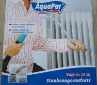 Aangeboden: Twee nieuwe universele stofzuigeropzetstukken van AquaPur. n.o.t.k.