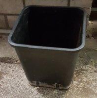110x vierkante potten 23x23x26cm