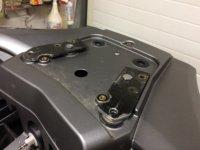 Aangeboden: Bevestiging Topkoffer Givi Triumph Trophy 1215 SE € 100,-
