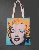 Aangeboden: Artbag/shopper Marilyn Monroe € 15,-