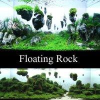 Drijvende rotssteen, bijzondere drijvende aquariumsteen