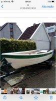 Aangeboden: Mooie boot met moter en tailer € 3.000,-