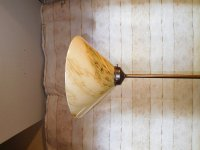 Aangeboden: Hanglamp Met Glazenkap € 39,-
