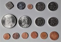 Aangeboden: Diverse nederlandse munten en bankbiljetten € 99,-