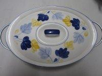 Dekschaal van porselein (collectes item)