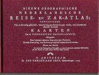 Nieuwe geographische reise- en zakatlas 1773