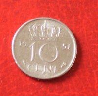 10 Cent / Dubbeltje - 1951