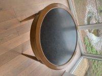 Mahoniehouten Bouillotte tafel 19de eeuw met
