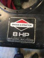 Aangeboden: GEZOCHT B&S motorType 216601 Model 191707 n.o.t.k.