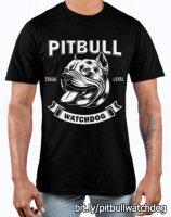 Pitbull Watchdog shirt or jack