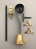 Aangeboden: Trekbel,deurbel,bel,oudebel,authentieke bel,voordeurbel € 40,-